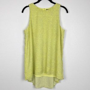 Vince Camuto Pleated Back Tank